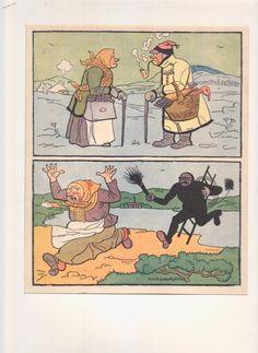 """ilustrace k pohádce """"Všehochlup"""", 1924"""