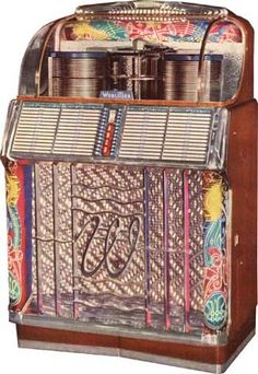 Wurlitzer 1500, year 1952, selections 104 - 78, 45 or 33 1/3 rpm. Also 1500A, year 1953, selections 104.