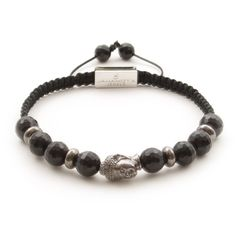 Description Healing Power More Strung by hand in our Vienna studio on an waxed rope combining cool Onyx and black stoppers, this beaded bracelet is punctuated w Black Buddha, Beaded Bracelets, Product Description, Jewelry, Products, Women, Jewlery, Jewels, Women's