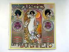 The Supremes  Let The Sunshine In LP by RockofSages on Etsy, $15.00