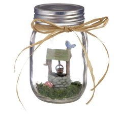 - Often referred to as the Fairy Garden for beginners, these charming mini fairy gardens in a mason jar are wonderful whether you're new to fairy gardens or a seasoned fairy gardener. - Five different