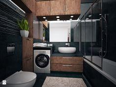 Łazienka - Średnia łazienka, styl nowoczesny - zdjęcie od FORMA - Pracownia Architektury Wnętrz i Krajobrazu