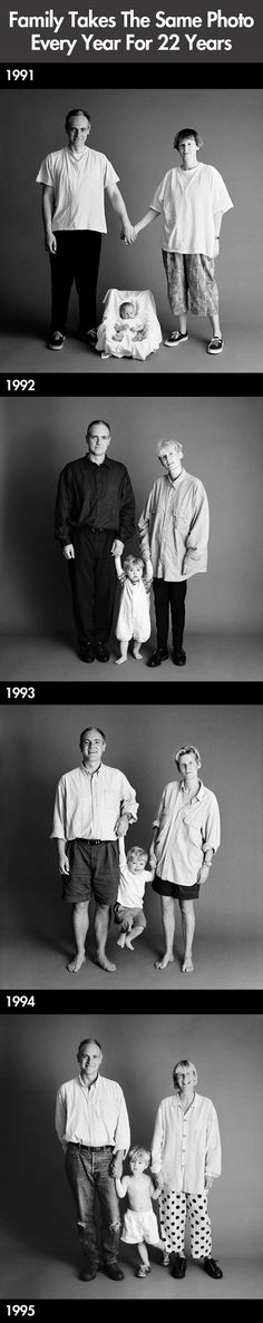 The same photo for 22 years…