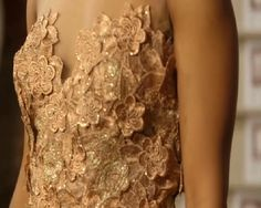 Chinelo's couture dress