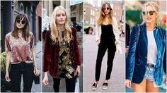 """Direto do túnel do tempo para a atualidade, o veludo molhado promete conquistar as fashionistas e mulheres que não abrem mão de estar por dentro da moda. Por ser um tecido """"chamativo"""" com brilho e uma pegada mais retrô, existem pessoas que ficam meio receosas, afinal, com o que combinar? A..."""