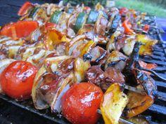 Steak & Vegetable Skewers   Indulge   Pinterest   Vegetable Skewers ...