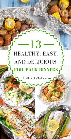 13 healthy, easy and delicious dinners – Healthy Eating – # Delicious # dinner …. 13 Healthy, Easy and Delicious Dinners – Healthy Eating – # Delicious # Dinner … – Recipes in Aluminum Package – dinner eating Healthy Dinner Recipes, Gourmet Recipes, Healthy Meals, Meal Recipes, Delicious Recipes, Tasty, Foil Pack Dinners, Hobo Dinners, Food Trends