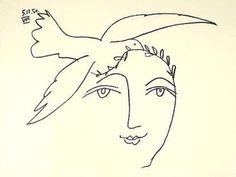 L'homme en proie à la paix - Picasso