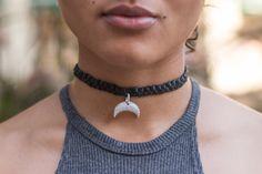 Genuine Black Leather Cz Diamond Charm Choker. #leatherchoker #blackleatherjewelry #czdiamondcharm #czdiamond #gehatijewelry #etsy #etsyshop #etsyjewelry #etsyseller #etsyfinds #chokercollar #layernecklace #braidnecklace