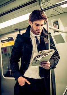 Look sharp on the subway