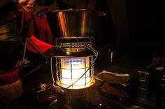 【レビュー】レインボーストーブをもっと暖かく使用するにはムーンライター用の外筒ガラスを買おう