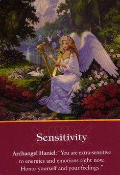 Archangel Haniel Sensitivity  Important message for me!