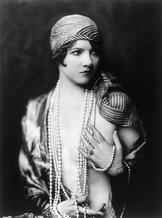 Beautiful Portrait Photos Of Ziegfeld Follies Showgirls From The 1920s Taken By Alfred Cheney Johnston