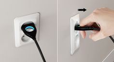 Universal Plug has two great benefits. First, everyone will be able to pull the plug easily. Second, it would lead people to attain voluntary attitudes in conserving energy. The intelligent hole of Universal Plug is not only makes it easier to pull the pl…