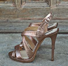Luxury Sandals - SS 2016 #the5thelementshoes #rosettishowroom #springsummer #readytogo #SS2016 # #highheels #snake #leather #sandals #evening #mood
