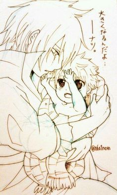 Natsu et Zeleph (?) By : https://twitter.com/0601non