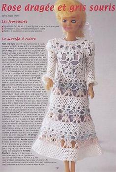 Ropa Barbie crochet - Liru labores textiles - Álbuns da web do Picasa