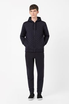 COS   Quilted zip-up jacket