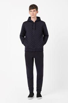 COS | Quilted zip-up jacket