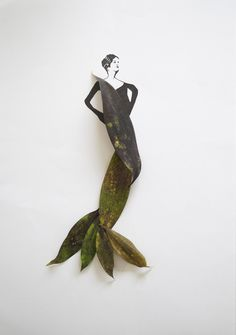 Fashion in Leaves6 in Illustration