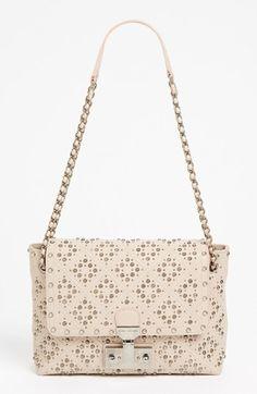 Baroque Leather Crossbody Bag