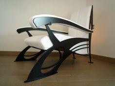 Fauteuil Design de type Art Nouveau