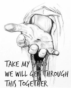 Take His hand and trust Him.. you won't regret it!