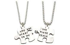 """Pandantiv: """"You Are The Missing Piece To My Puzzle""""."""