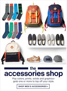 GAP: the accessories shop | SHOP MEN'S ACCESSORIES