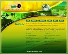 Logo and website design for Afritalk   www.afri-talk.com Showcase Design, Purpose, Finance, Web Design, Technology, Website, Logo, Organization, Tech