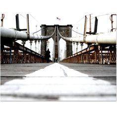 Trademark Fine Art Yale Gurney 'Brooklyn Bridge' Canvas Art