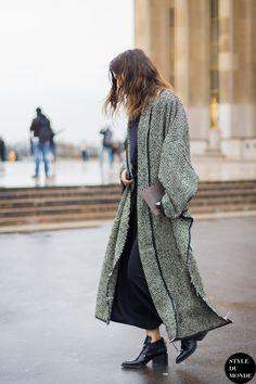 Isabelle Kountoure Street Style Street