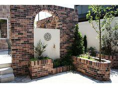 「花壇  アーチ レンガ」の画像検索結果