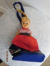 VINTAGE CHILD DOLL PURSE -BIN 013
