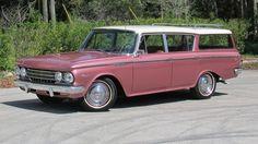 Classic Classic: 1962 AMC Rambler Classic Wagon - http://barnfinds.com/1962-amc-rambler-classic-wagon/
