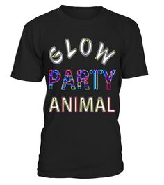 Glow Party Animal Neon Festival Electric t-shirt | tshirt t