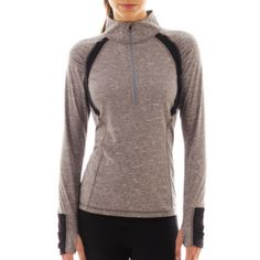 Xersion™ Half-Zip Honeycomb Pullover  found at @JCPenney