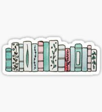 Pastel Books Sticker