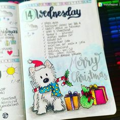 30 Christmas Spread Ideas for your Bullet Journal — Square Lime Designs Bullet Journal Christmas, Bullet Journal Set Up, Bullet Journal Junkies, Bullet Journal Layout, Bullet Journal Inspiration, Journal Ideas, Bullet Journal Collections, Crea Fimo, Organization Bullet Journal