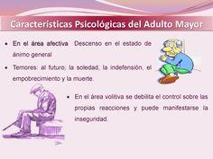 Caracteristicas Psicologicas del Adulto Mayor