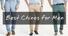 8 Summer Chino Trends for Men