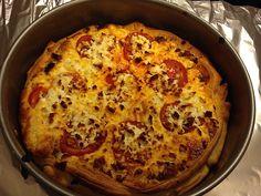 Blätterteigquiche mit Hackfleisch, Tomaten und Schafskäse, ein schmackhaftes Rezept aus der Kategorie Tarte/Quiche. Bewertungen: 54. Durchschnitt: Ø 4,4.