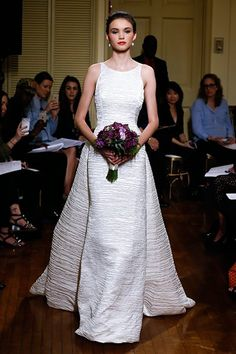 Wedding gown by Peter Langner (Style Agnes).