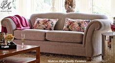Kirkdale Pembroke marinello in dove! Sofa Manufacturers, 2 Seater Sofa, Mid Century Modern Furniture, Fabric Sofa, Sofa Bed, Seat Cushions, Sofas, Love Seat, Upholstery