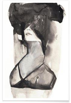 A MINIKIN als Premium Poster door Victoria Verbaan | JUNIQE