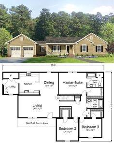 1000 images about ranch style homes on pinterest for New construction ranch style homes in illinois