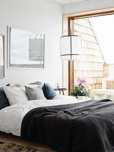Serene bedroom. Image by Kristofer Johnsson