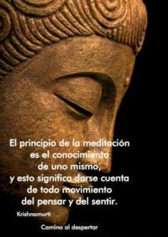 Principio meditacion