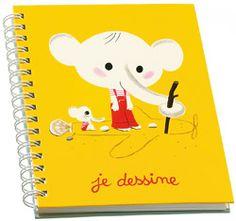 Elephant notebook Mouk