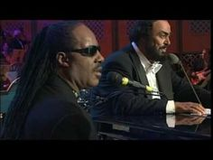 Pavarotti & Stevie Wonder Peace Wanted Just To Be Free HQ